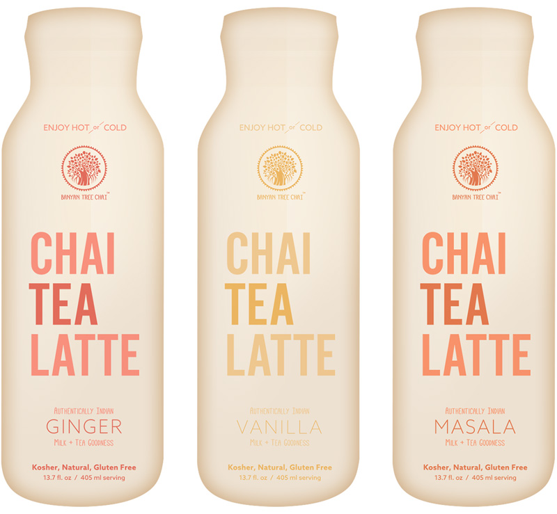 Banyan Tree Chai Latte Bottles